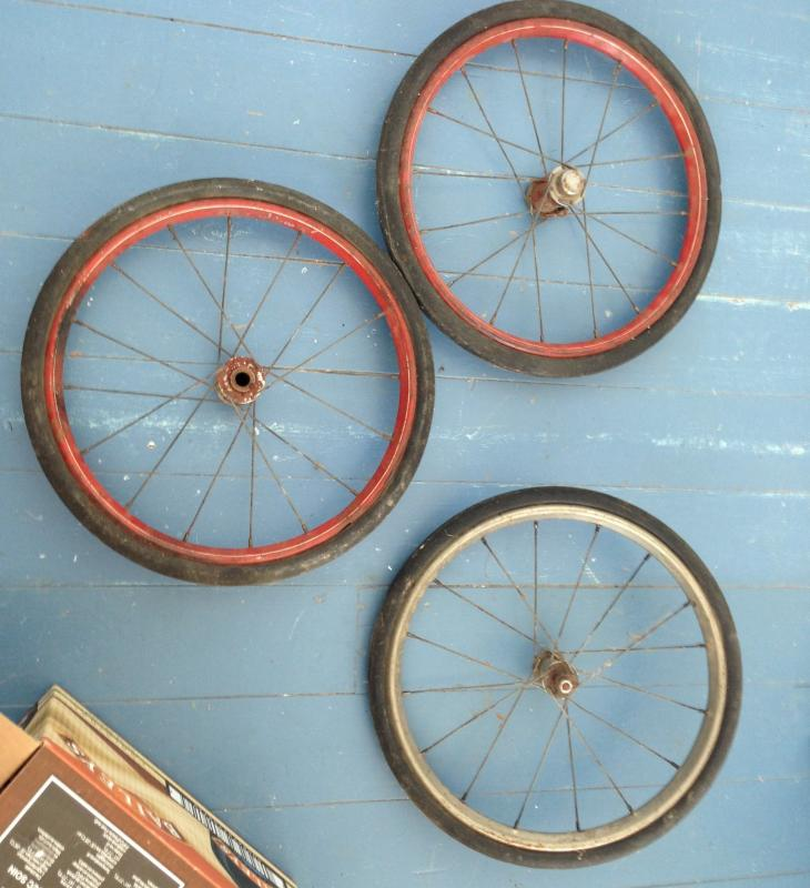 Vintage Tricycle Wheels : Vintage ccm forum tricycle wheels for sale