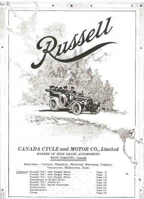 Russell Motor Car